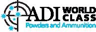 ADI World Class Powders and Ammunition Logo