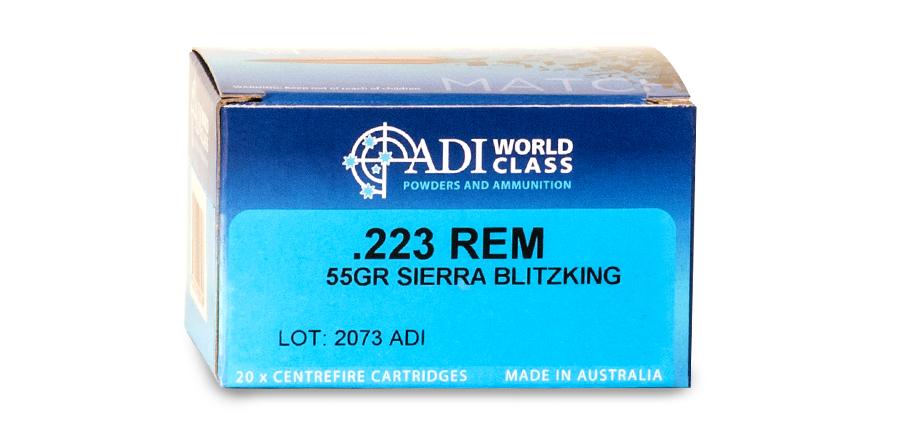 .223 REM – 55gr Sierra BlitzKing