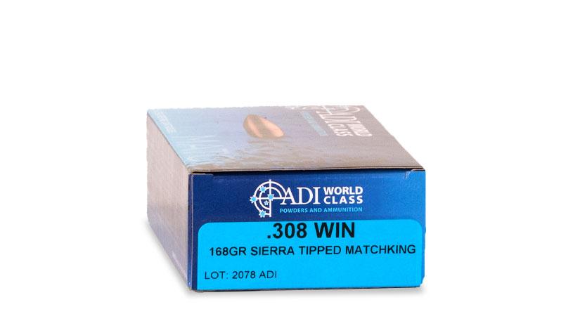 .308 WIN 168gr Sierra Tipped MatchKing