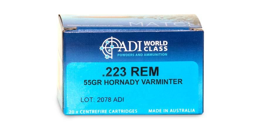 .223 55gr Sierra Varminter
